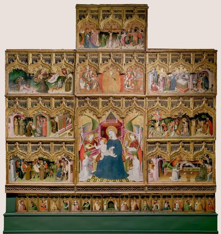 Retablo de la vida de la Virgen y de San Francisco